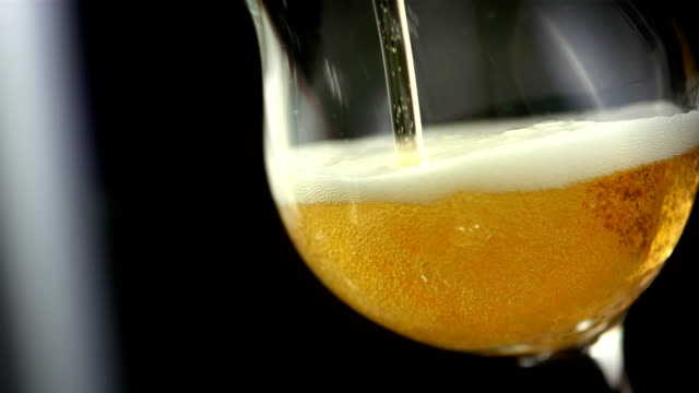 HD Super Slow-Mo: Pouring Beer video