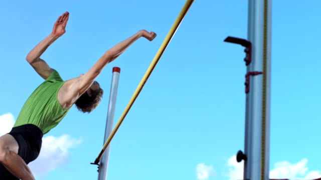 HD Super Slow-Mo: Professional Athlete Training A High Jump video