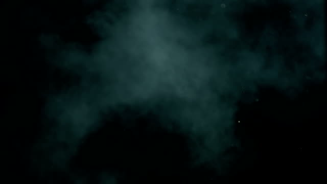 hd super slow-mo: smoke over black background - 霧 個影片檔及 b 捲影像