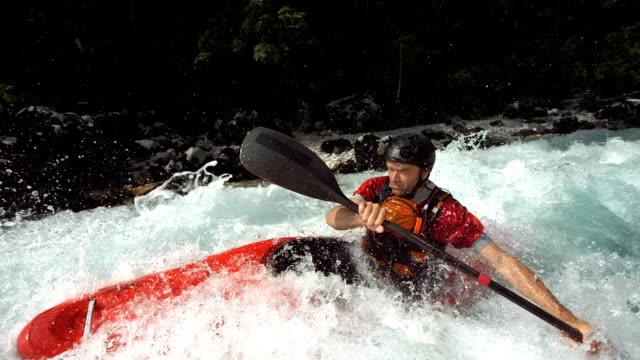 HD Super Slow-Mo: Whitewater Kayaking Training