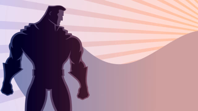 Superhero Background 2 video