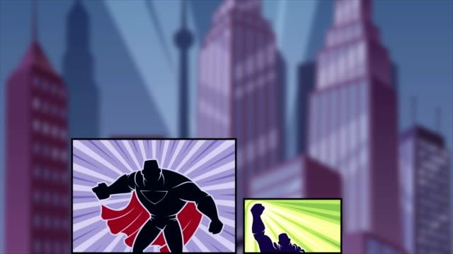 Superhero Comicbook Intro