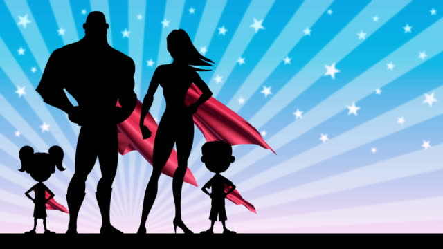 Superhero Family video