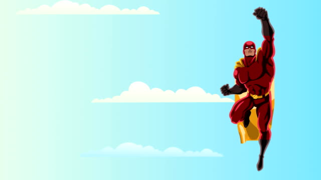 Superhero Flying 2 Sky video