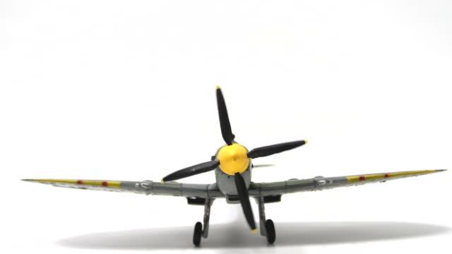 Supermarine Spitfire Engine Startup video