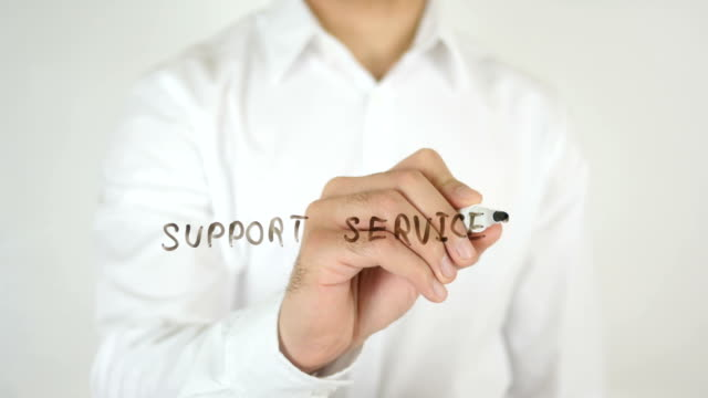 Support Services, Written on Glass video
