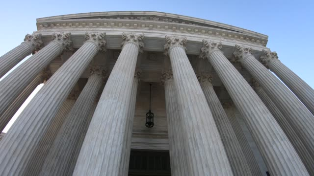 US Supreme Court Building US Supreme Court building in Washington, DC. supreme court stock videos & royalty-free footage