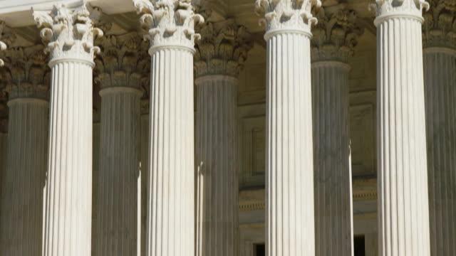 U.S. Supreme Court Columns Tilt Up