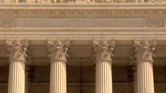 HD: US Supreme Court Detail video