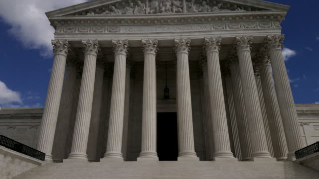 Supreme Court of the United States in Washington, DC - 4k/UHD
