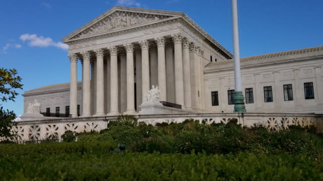 Supreme Court of the United States in Washington, DC - 4k/UHD video