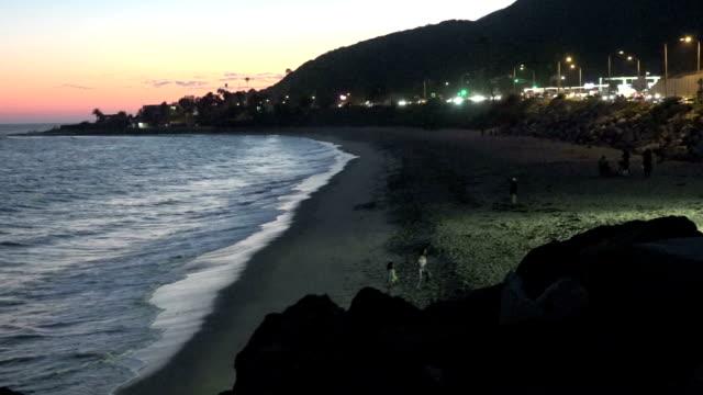 Surf at Malibu CA video