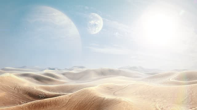 Surface of an Alien World - Desert Exoplanet video