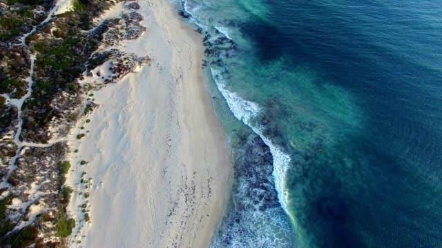 surfers, aerial view - western australia stock videos & royalty-free footage
