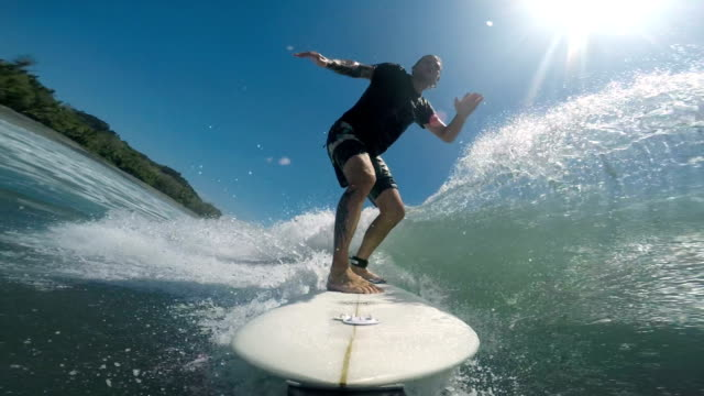 Surfing in Costa Rica video