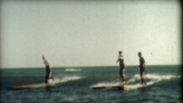 Surfing Tricks 1930's video