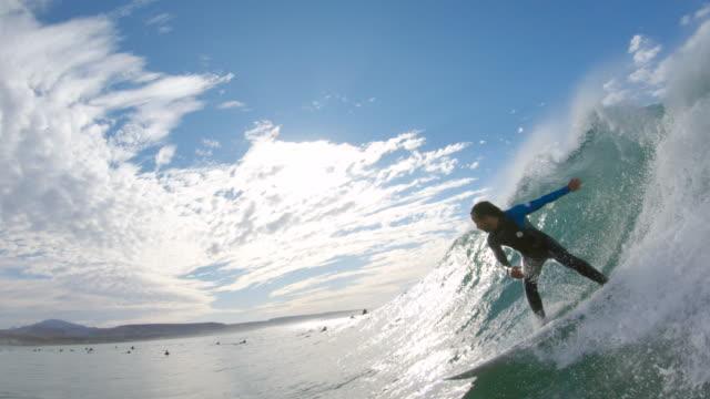 サーフィン - 大西洋点の映像素材/bロール