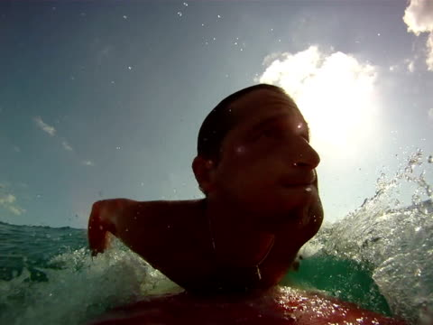 POV Surfing video