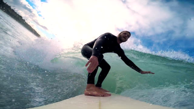 stockvideo's en b-roll-footage met surfen - gopro