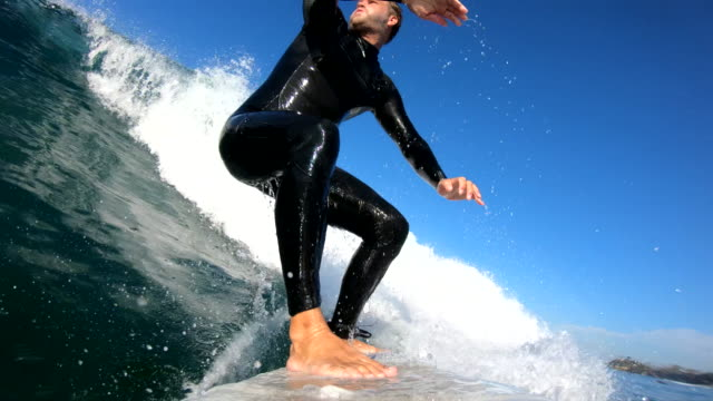 Surfing video