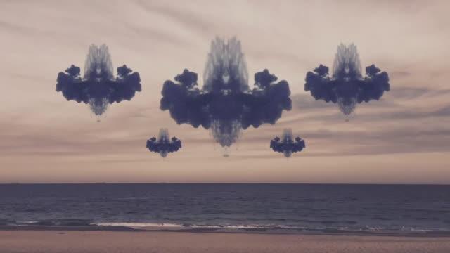 time lapse surreale - onirico video stock e b–roll