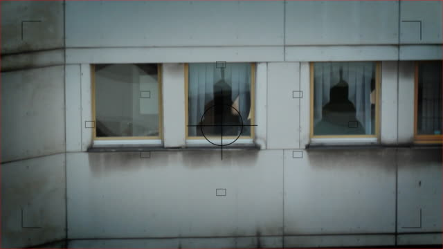 監視 - こっそり点の映像素材/bロール