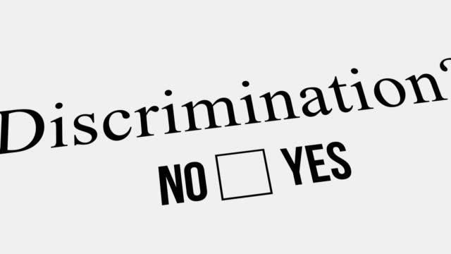 fragen und antworten. diskriminierung? - feedback stock-videos und b-roll-filmmaterial