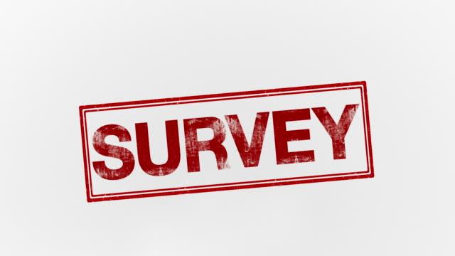survey survey text survey icon stock videos & royalty-free footage