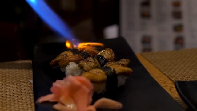 Sushi fou gra Burn