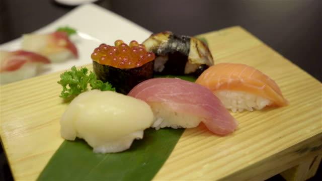 寿司セット ビデオ
