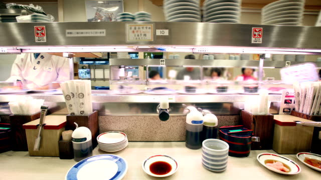 Sushi Train, Japan video