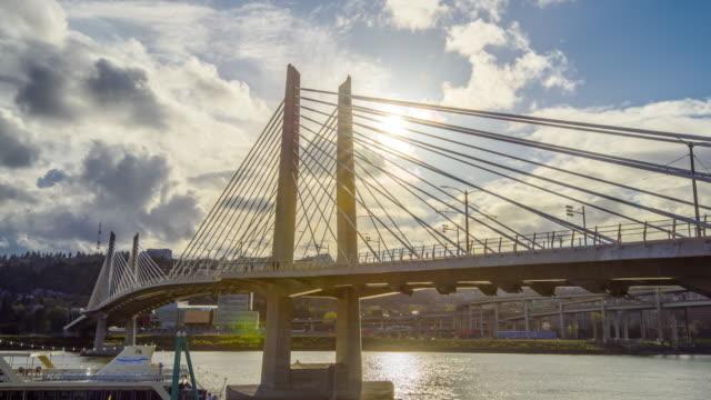 Suspension Bridge Portland Oregon video