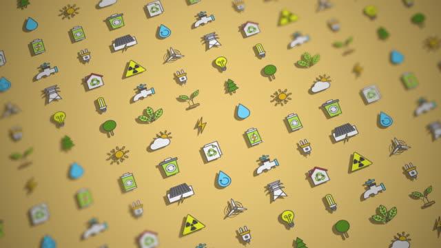 Sustainability Animation Background video