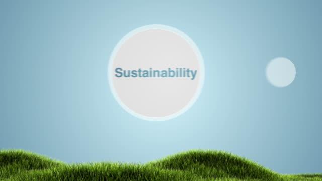 Sustainability Animation video