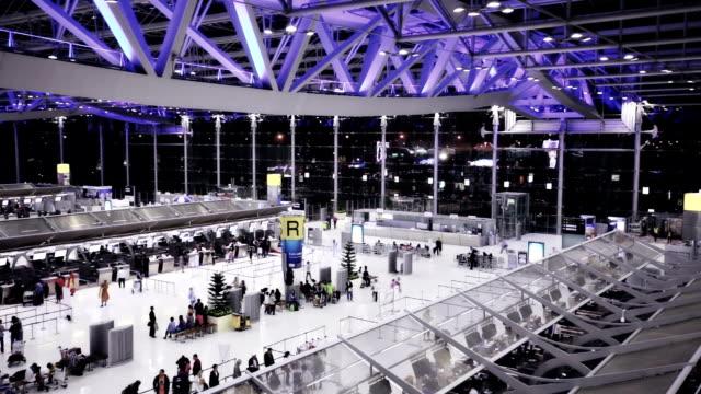 Suvarnabhumi airport in Bangkok video