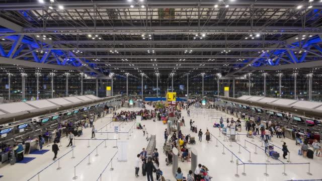 Suvarnabhumi Airport Timelapse video