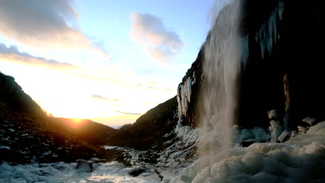 Svartifoss waterfalls video