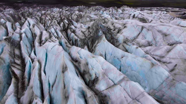 Svinafellsjokull-Gletscher in Vatnajokull, Island. – Video