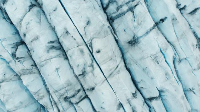 stockvideo's en b-roll-footage met svínafellsjökull glacier, ijsland - geologie