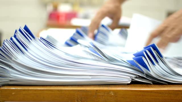 Swamped in paperwork