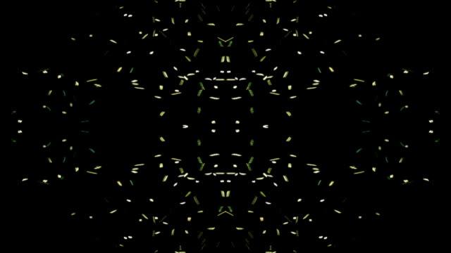 抽象的な小さな群がってライトします。 - ハエ点の映像素材/bロール
