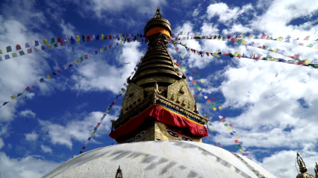 Swayambhunath or Monkey temple video