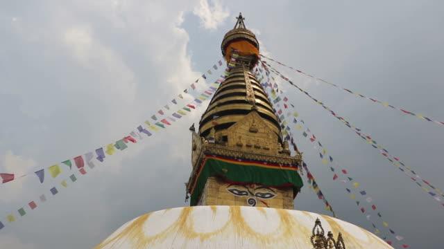 Swayambhunath stupa, Kathmandu, Nepal video