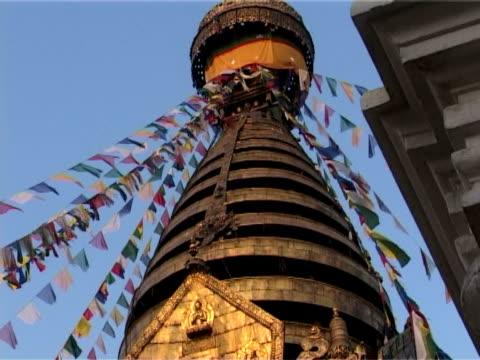 Swayambhunath with prayer flags video