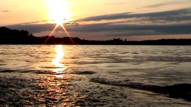 Sweden Sunset video