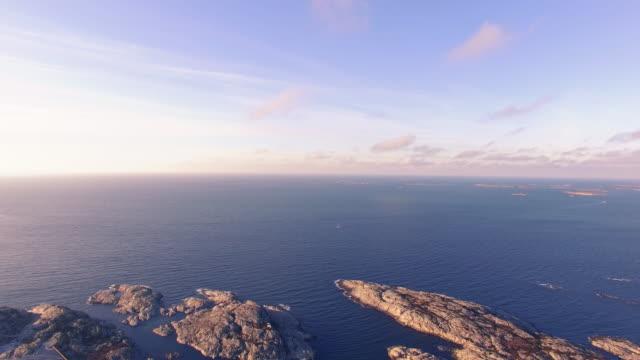 svenska kusten vid solnedgången - bohuslän nature bildbanksvideor och videomaterial från bakom kulisserna