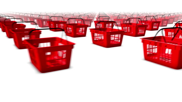 Sweeping across endless Shopping Baskets side video