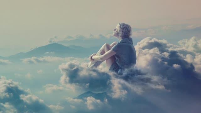 vídeos de stock e filmes b-roll de sweet vanilla heaven - surrealismo
