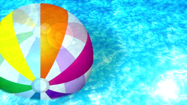 Swim in a Swimming Pool, Loop Animation,