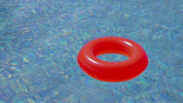 Swimming pool and Inner tube video